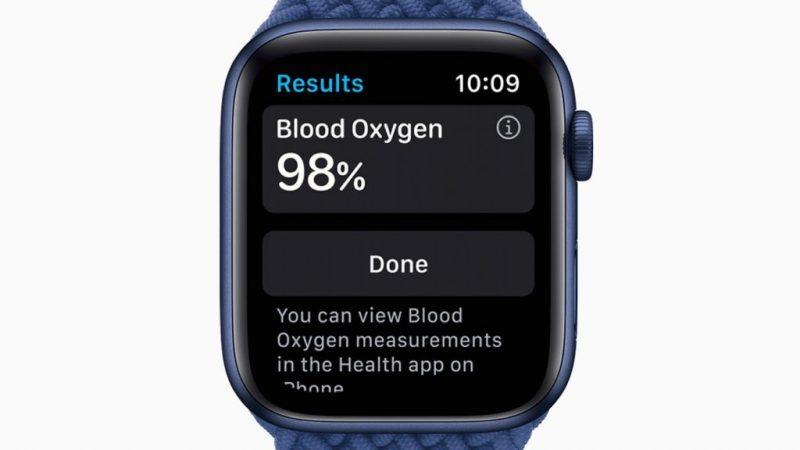 Apple Watch Series 6 — зачем следить за кислородом в крови?